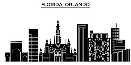 Orlando architecture city skyline