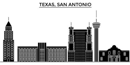 Texas San Antonio architecture city skyline