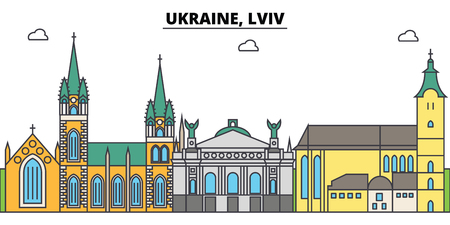 Ukraine outline city.