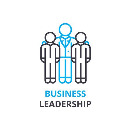 Business leadership concept , outline icon, linear sign, thin line pictogram, logo, flat illustration, vector Illustration