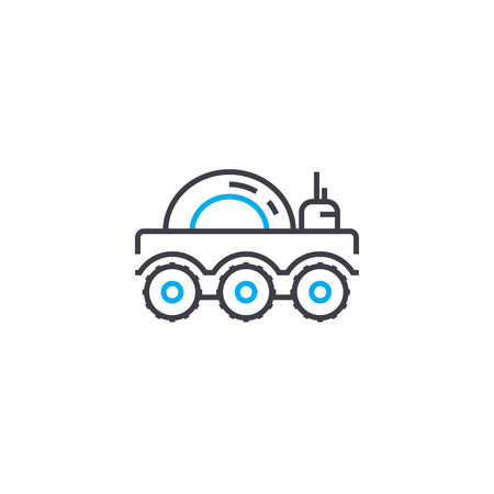 Military equipment vector thin line stroke icon. Military equipment outline illustration, linear sign, symbol isolated concept.