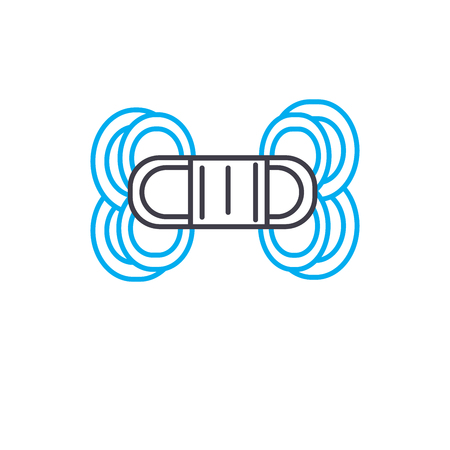 Macrame line icon, vector illustration. Macrame linear concept sign.