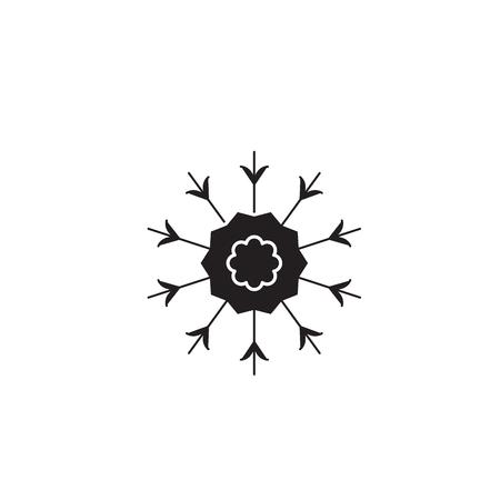 Knapweed black vector concept icon. Knapweed flat illustration, sign, symbol Ilustracja