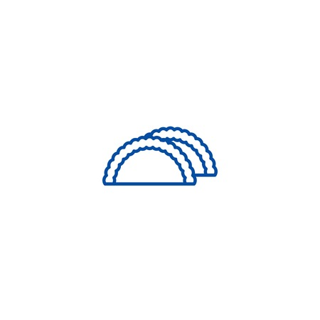 Boon line concept icon. Boon flat  vector website sign, outline symbol, illustration.