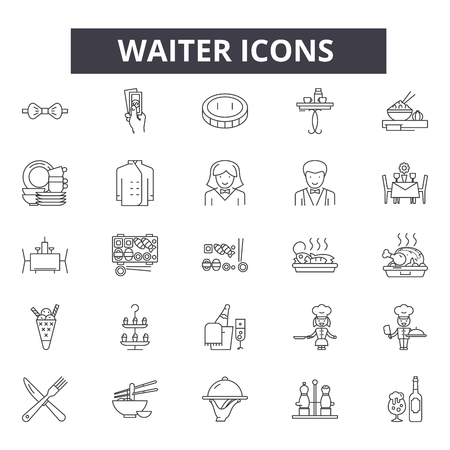 4,868 Serve Waiter Stock Illustrations, Cliparts And Royalty