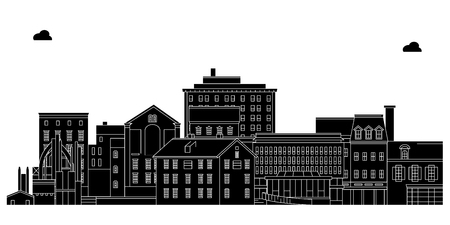 Bethlehem , United States, outline travel skyline vector illustration