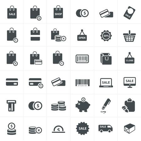 hopping: hopping icons Vector Set Illustration