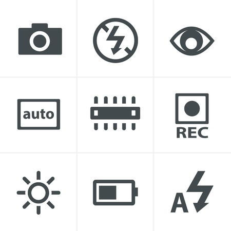 compensation: Photography icons
