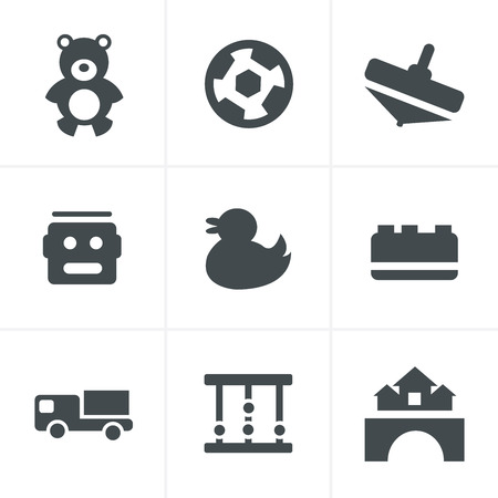 didactic: Toys Icons