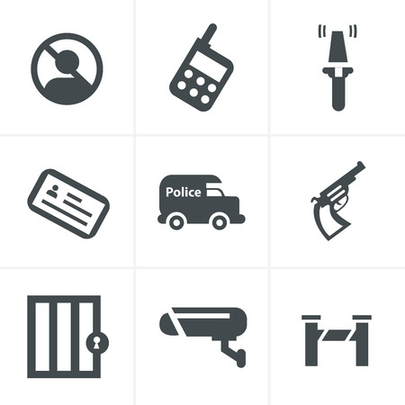 prison system: Security Icons