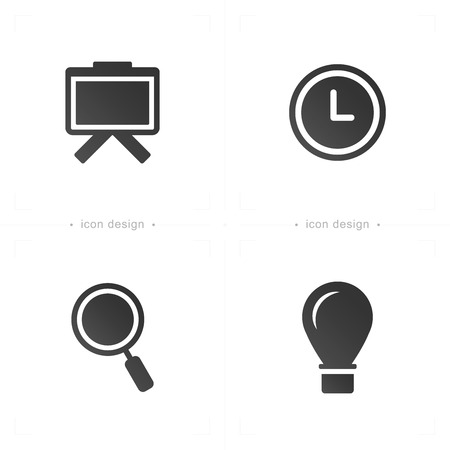 speech bubble: presentation icons