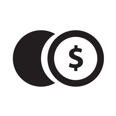 monet: coin icon Illustration