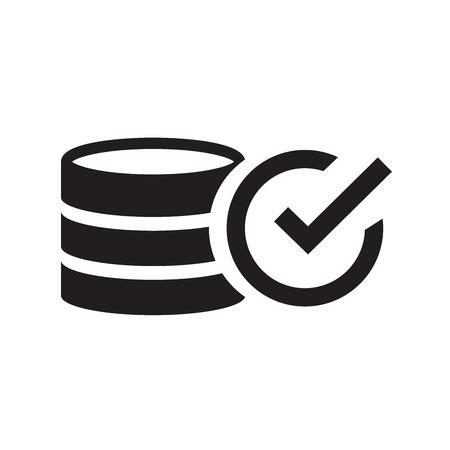 monet: design coin icon Illustration