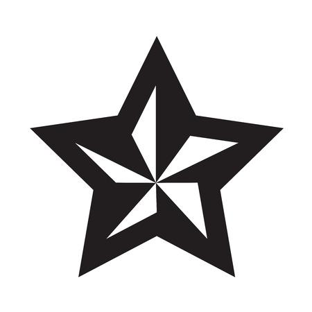star: Black star - vector icon