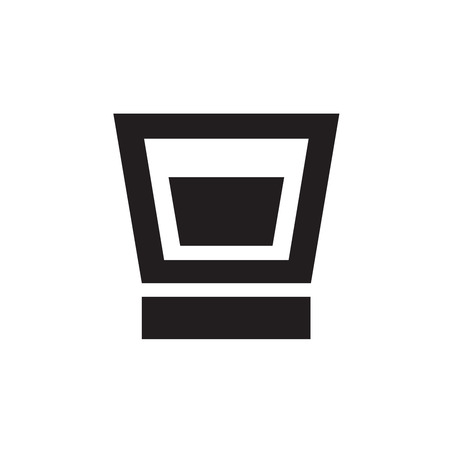 whie wine: alcohol beverage icons Illustration