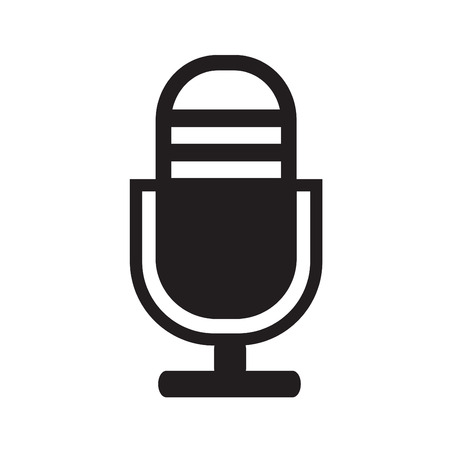 concert audience: microphone icon