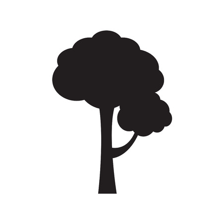 forestation: Decorative simple tree