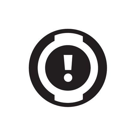rev counter: car dashboard icon