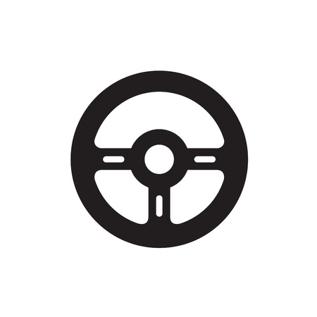 steering: icon steering wheel