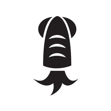 cephalopod: squid icon