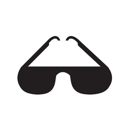 aviators: Sunglasses icon, vector illustration