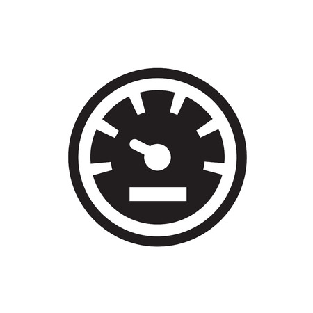 rev counter: Speedometers vector icons