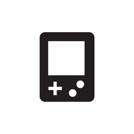 console: old Game console Illustration