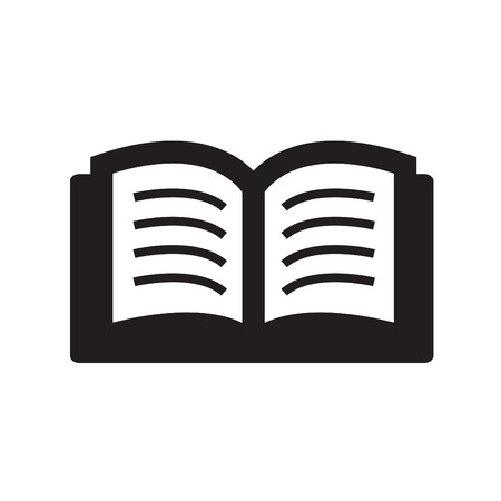 office romance: Simple set of books icon