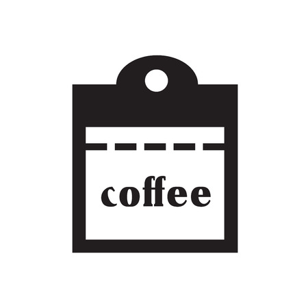 allergens: coffee vector icon