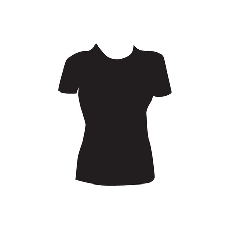 bust: womens shirts icon