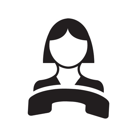 handsfree telephone: Call center vector icon