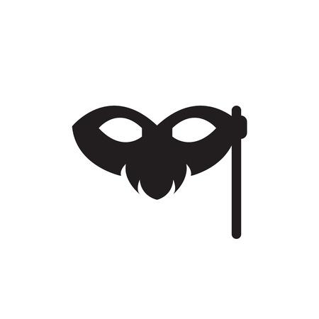festive: festive masks silhouette Illustration