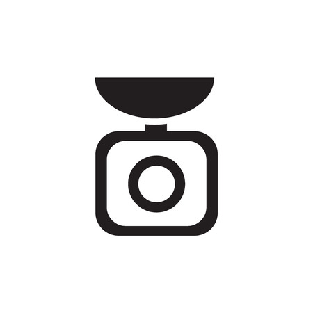 weight scale: Weight scale icon