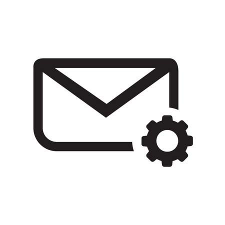 configure: setting parameters and Envelope Mail icon