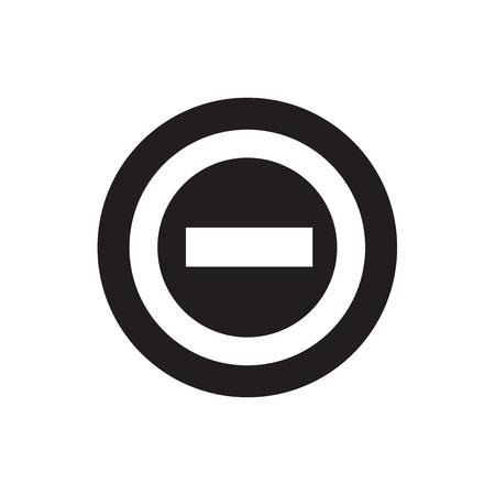 beware: beware icon and button Illustration