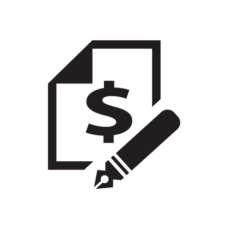 bilateral: financial documents icon