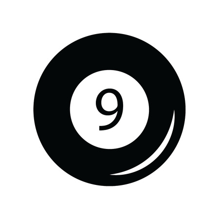 billiard ball: Billiard ball icon