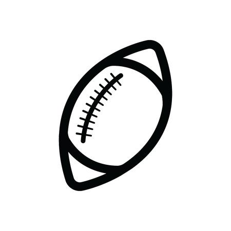 孤立したアメリカン フットボール