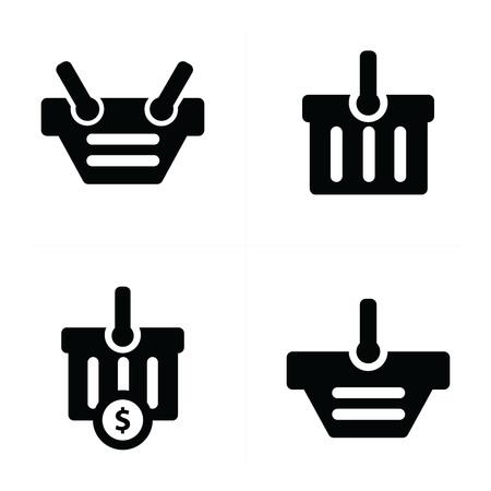 shopping cart icon: Shopping cart Icon Set