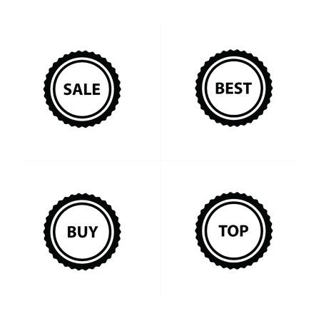 bargains: Price set icon design