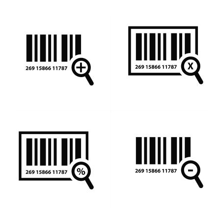 zoom: Zoom Barcode Design Illustration