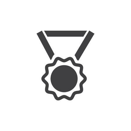 merit: Medal Awards vector icons