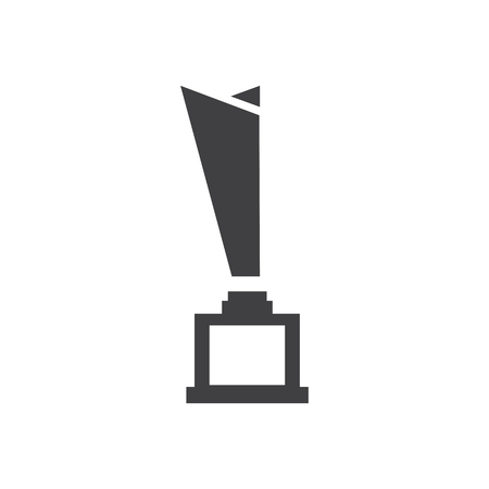 trophy Awards vector Design icons Çizim
