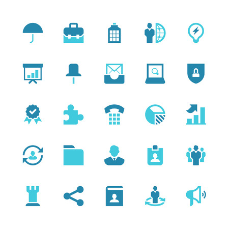 Set of 25 business vector icons. They can be perfectly applied in graphic design and web or mobile devices. Included in each set :25 Vector icons(EPS 8) || Easy to edit, manipulate and colorize. 500dpi Hi-RES JPG || Highres on white background. Vector