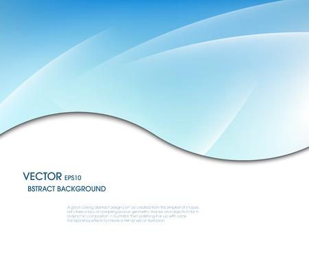 à blue: Fondo abstracto del vector tablero de mensajes para texto y mensaje de marco de sombra línea para el diseño web moderno Vectores