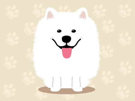178 Samoyed Dog Cliparts Stock Vector And Royalty Free Samoyed Dog
