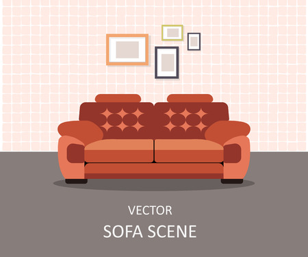 Home Interior. Interior Design Aus Einem Wohnzimmer Für Die Website ...