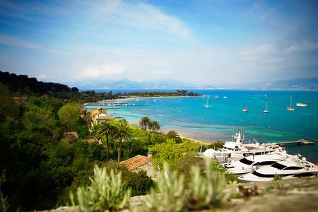 cote d'azure: View at C�te d