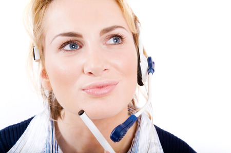 customer support: Customer support concept. Stock Photo