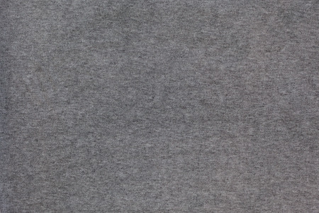 weave: Detailed macro of gray cotton modal fabric texture. Stock Photo